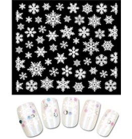 Gellipop Snow Flakes (White)