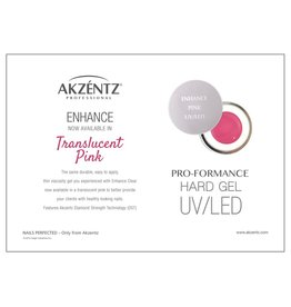 Akzentz Enhance Translucent Pink 45g
