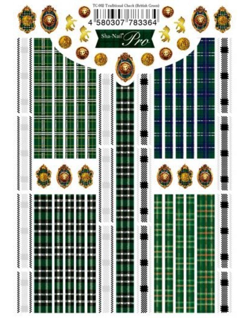 Traditional Check (British Green)