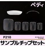 Sample Tip Set P210<br />Clear