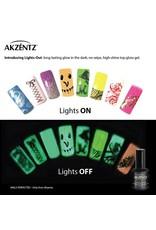 Akzentz LIGHTS OUT GLOW-IN-THE-DARK GEL TOP COAT