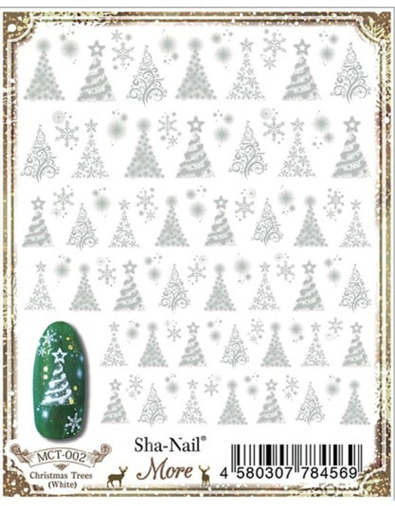 Christmas Trees (White)