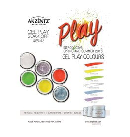 Akzentz Gel Play Spring/Summer Colours minis