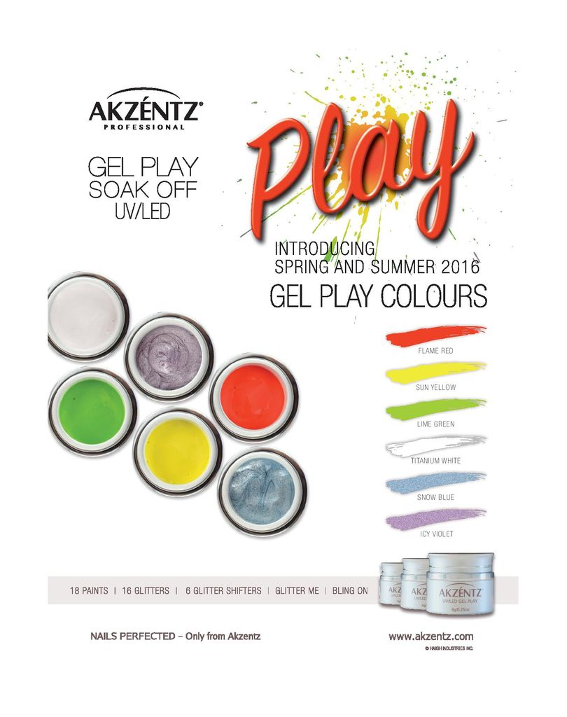 Akzentz Gel Play Spring/Summer Colours minis