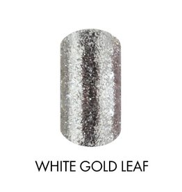 Akzentz Glitz White Gold Leaf