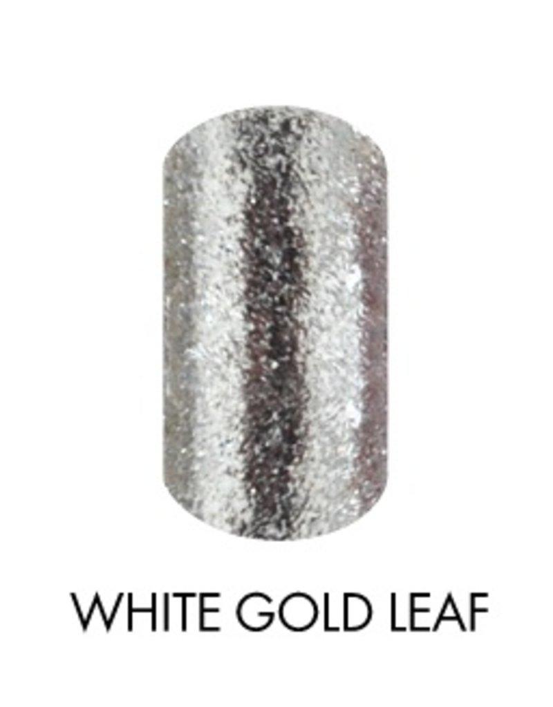 Akzentz Glitz White Gold Leaf