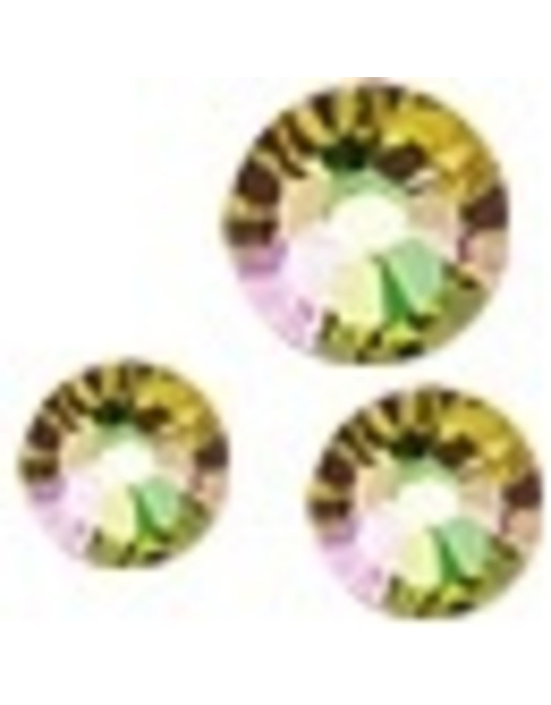 Crystal Culture Swarovski Multi Size Package<br /> Luminous Green