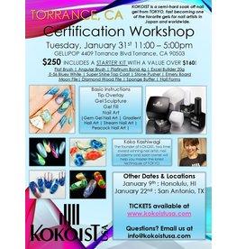Gellipop Kokoist Certification Class
