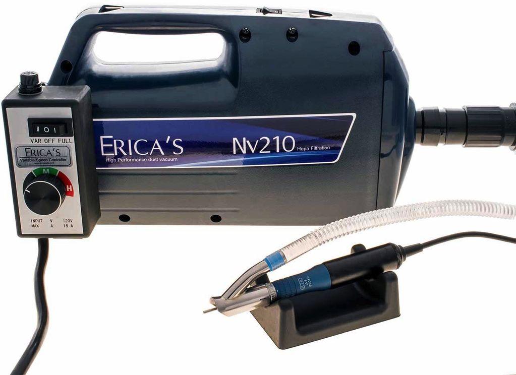 Erica S Ata Nv210 Nail Vacuum System