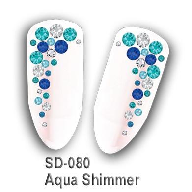 Crystal Culture AQUA SHIMMER