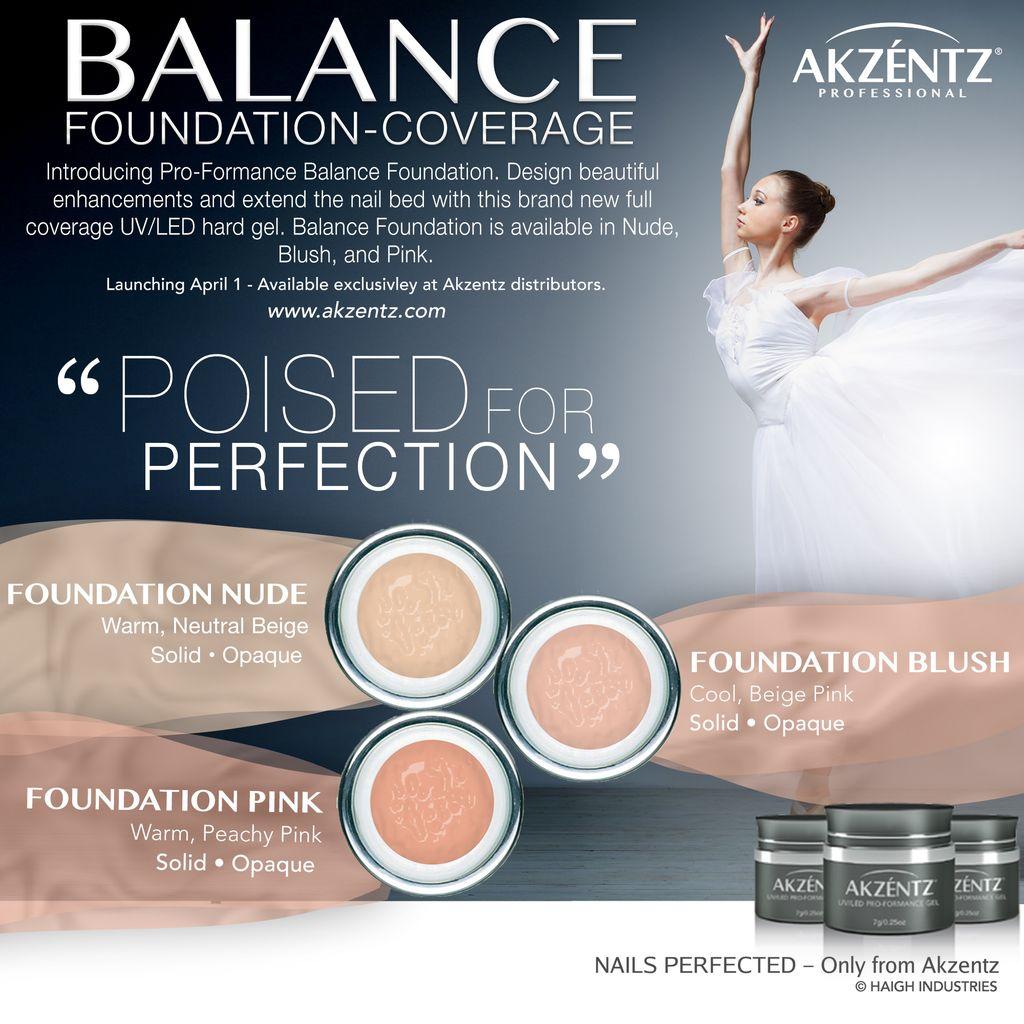 Akzentz Balance Foundation Nude 45g