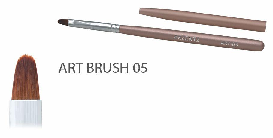Akzentz Gel Art Oval Brush #05