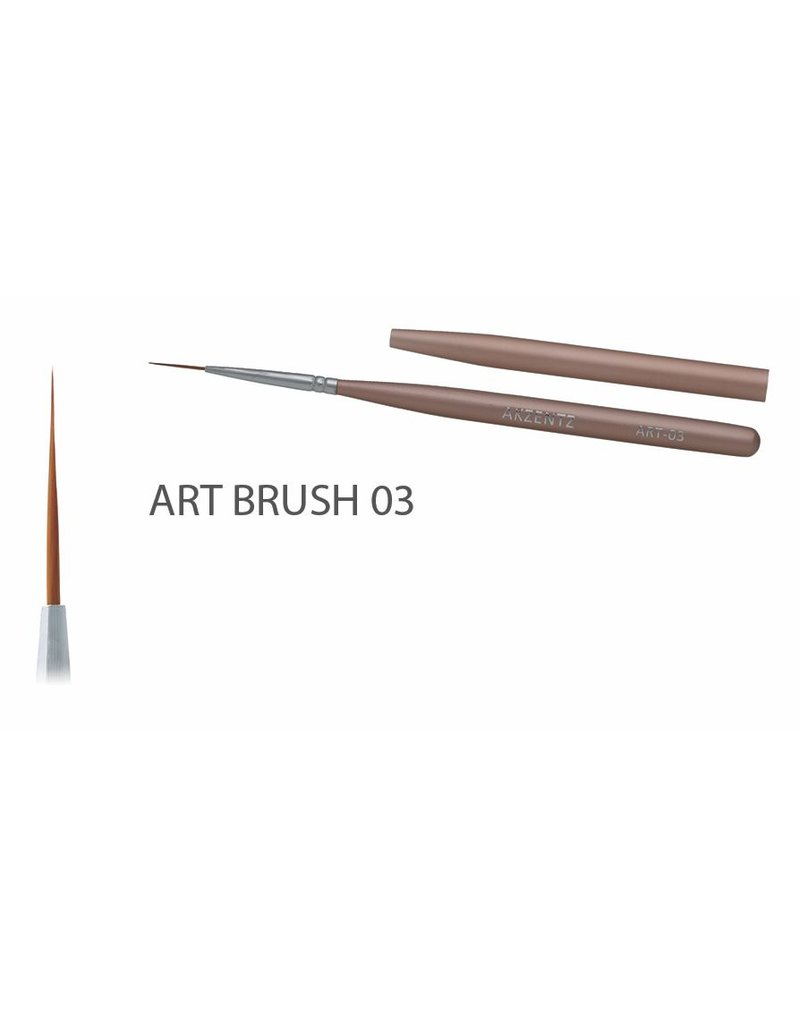 Akzentz Gel Art Liner Brush #03