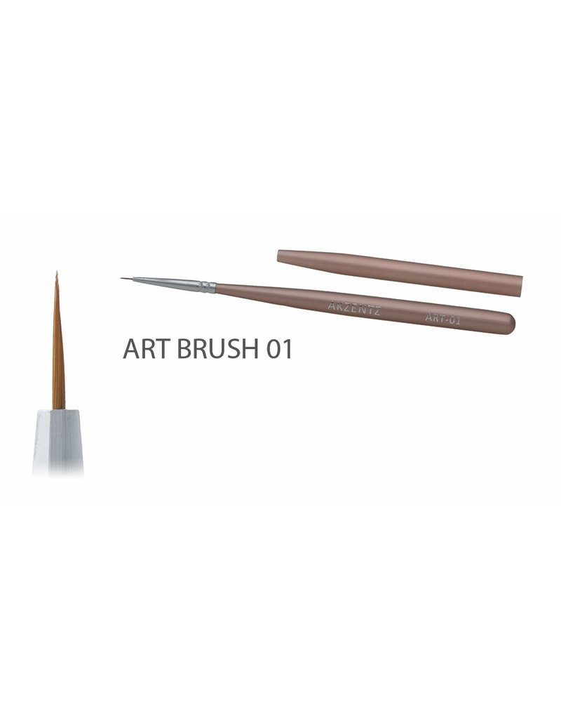 Akzentz Gel Art Liner Brush #01