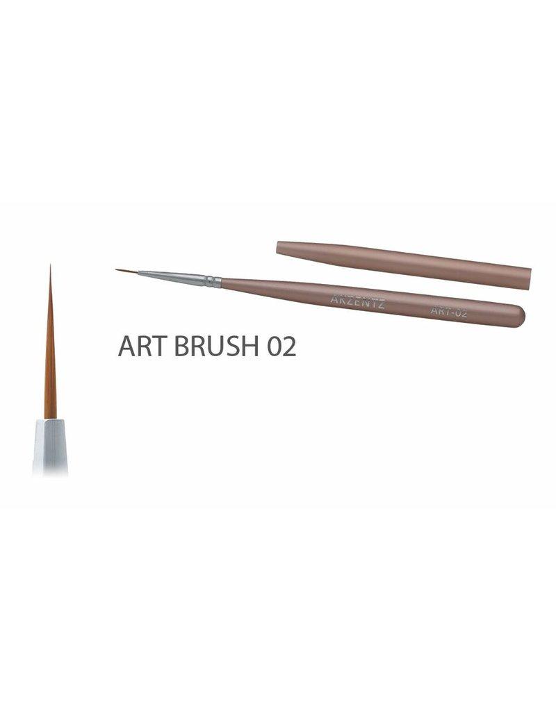 Akzentz Gel Art Liner Brush #02
