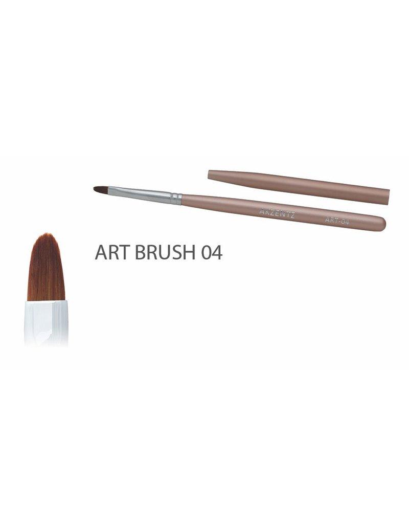 Akzentz Gel Art Oval Brush #04
