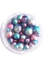 Nail Labo PEARL BALL ASSORTED BLUE MERMAID
