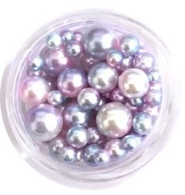 Nail Labo PEARL BALL ASSORTED PINK MERMAID