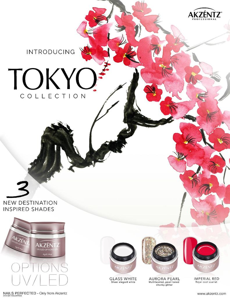 Akzentz Options Fall Tokyo Mini Limited Edition Kit