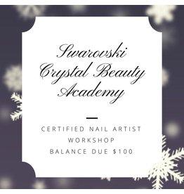 Gellipop Swarovski Certified Nail Artist Workshop @ GELLIPOP® Balance Due