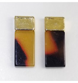 Shareydva DonaclaSssy Rectangle (Raw Amber)