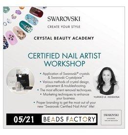 Gellipop 05/21/18 Swarovski Certified Nail Artist Workshop