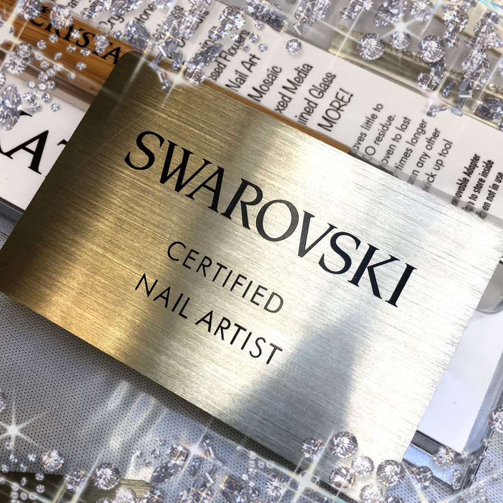 Gellipop Swarovski Certified Nail Artist Workshop Deposit