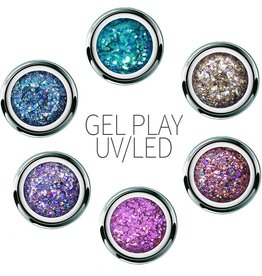 Akzentz GEL PLAY GLITTER CRUSH COLLECTION 2018