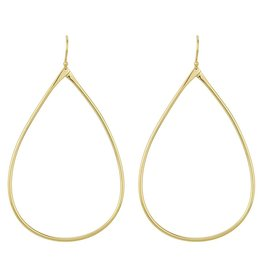BARONI DESIGNS Earring Large Silken Tear Gold