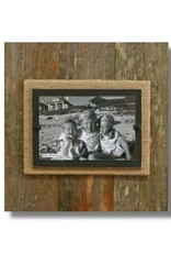 BEACH FRAMES Frame Reclaimed Wood Large Single Brown and Burlap Background