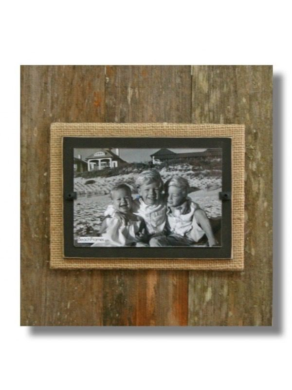 BEACH FRAMES Reclaimed Wood Frame 11 x 11 Brown