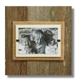 BEACH FRAMES Reclaimed Wood Frame 11 x 11 Cream