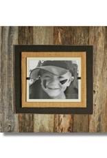 BEACH FRAMES Reclaimed Wood Frame 22 x 22 Brown