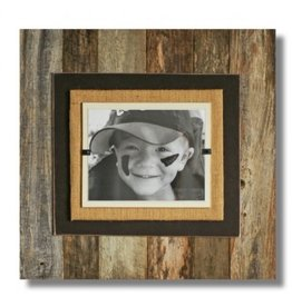 BEACH FRAMES Reclaimed Wood Frame 22 x 22 Brown