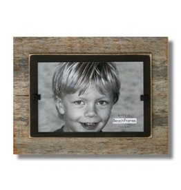 BEACH FRAMES Frame Reclaimed Wood Mini Frame Brown Background