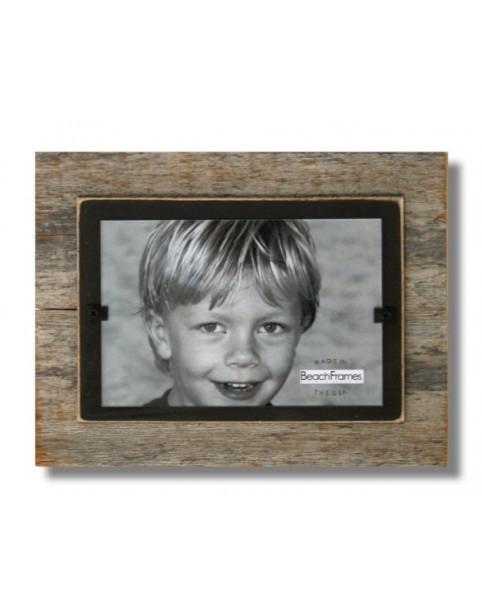 BEACH FRAMES Frame Reclaimed Wood Mini Frame Brown Background