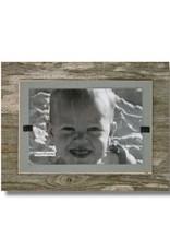 BEACH FRAMES Reclaimed Wood Frame   7 x 9 Gray