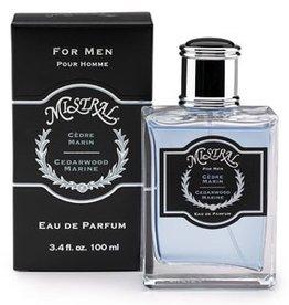 MISTRAL WHOLESALE Mistral Men's Cedarwood Marine Parfum Spray