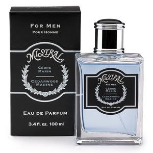 MISTRAL WHOLESALE Mistral Men's Cedarwood Marine Parfum Spray
