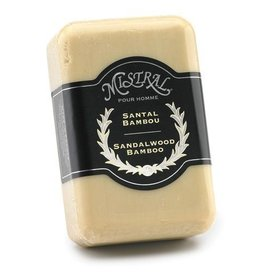 MISTRAL WHOLESALE Mistral Sandalwood Bamboo Men's Soap