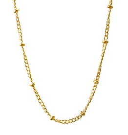 BARONI DESIGNS Chain Saturn 22 24 Gold Plate