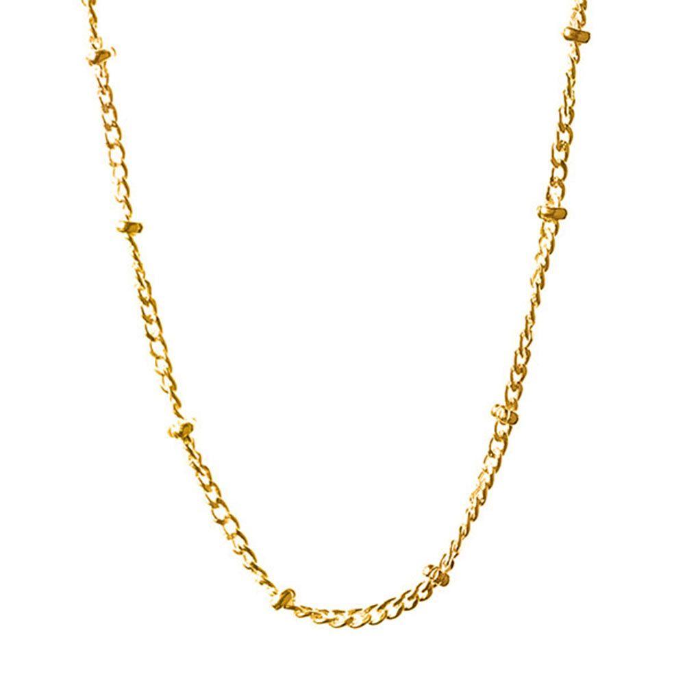 BARONI DESIGNS Chain Saturn 22 24 Gold Plate