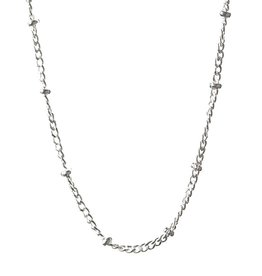 BARONI DESIGNS Chain Saturn 22 24 Silver