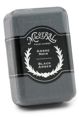 MISTRAL WHOLESALE Mistral Black Amber Men's Soap