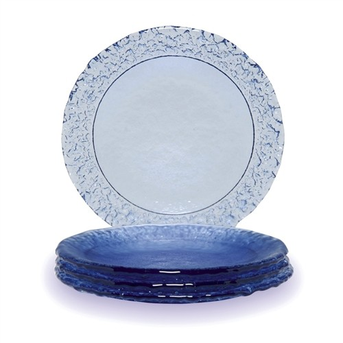 FIRE & LIGHT <ul><li>Made with Recycled Glass</li><li>Dishwasher Safe</li><li>Not Recommended for Microwave Use</li></ul>