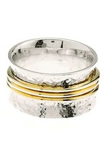 BARONI DESIGNS Ring Two Tone Band Wide
