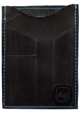 ALCHEMY GOODS ID Card Holder Night Out Marine Blue Stitching