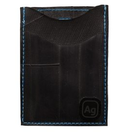 ALCHEMY GOODS ID Card Holder Night Out Marine Blue Stitching
