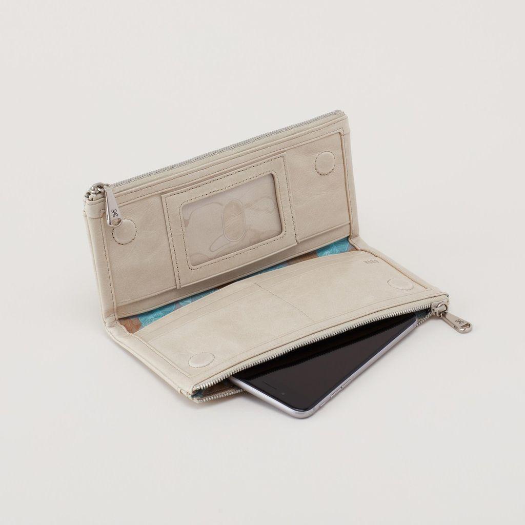HOBO Hobo Leather Wallet Taylor Linen