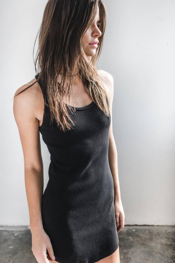 Joah Brown Joah Brown Free Falling Tank Dress Black
